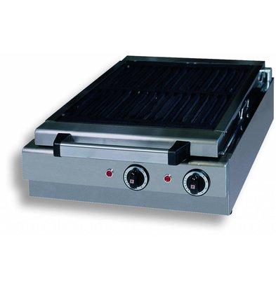 Combisteel Dampf Elektrotischgrill - 410x340mm - 49x50x (h) 18cm