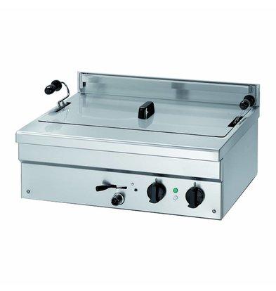 Combisteel Fryer Made in Europa l | Gas | Bäckerei Fisch und Oliebollen | 18 Liter | 400V | 12kW | 700x580x (H) 250mm
