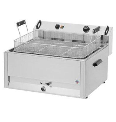 Combisteel Fritteuse | Elektro | Bäckerei Fisch und Oliebollen | 30 Liter | 400V | 15kW | 560x540x (H) 370mm