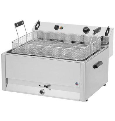 Combisteel Fritteuse | Elektro | Bäckerei Fisch und Oliebollen | 16 Liter | 400V | 9 kW | 560x540x (H) 370mm