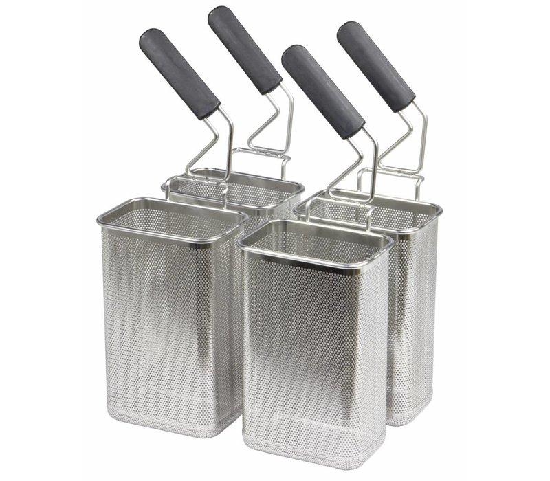 Combisteel Pasta Baskets 4 Stück 105x160mm