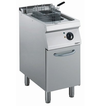 Combisteel Friteuse | Electric | 14 liters | 400V | 8,7kW | With chassis | 400x700x (h) 850mm