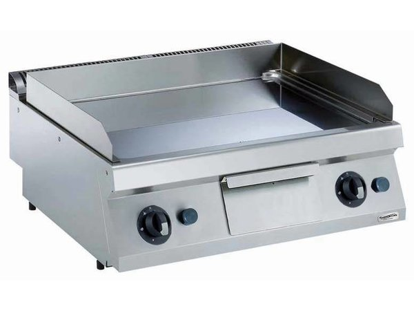 Combisteel Gas Griddle Vlak Verschroomd - 14 kW - 800x700x (H) 250mm