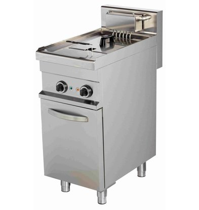 Combisteel Friteuse | Electric | 10 liters | 400V | 9kW | With chassis | 400x700x (h) 900mm