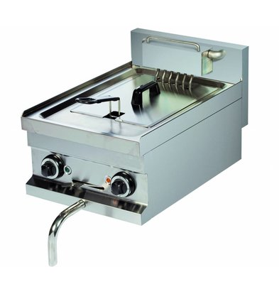 Combisteel Elektrische Friteuse 8 Liter - 7,5kw - 400V - 400x600x(h)265mm
