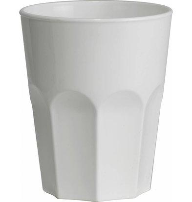 Bar Professional Rox Glas 30cl Weiß Kunststoff PP - Pro 15 Stücke