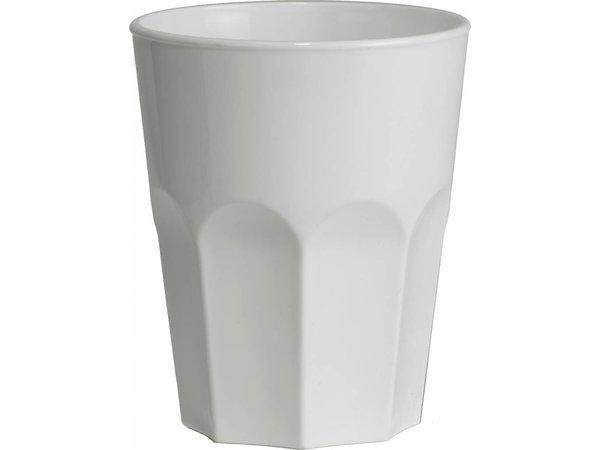 XXLselect Rox Glas 30cl Weiß Kunststoff PP - Pro 15 Stücke