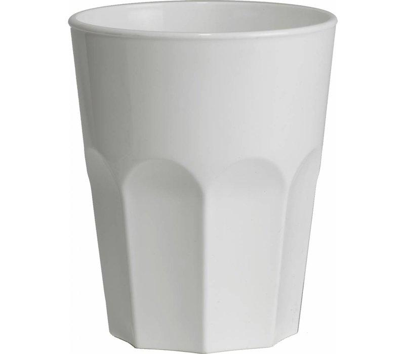 XXLselect Glas Rox 30cl Wit PP Kunststof - Per 15 Stuks