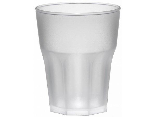 XXLselect Rox 30cl glass Mat PP plastic - Per 15 Pieces