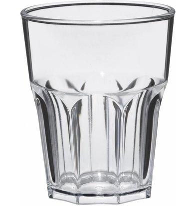 Bar Professional Glass Rox 30cl Transparent SAN Plastic - Per 8 Pieces