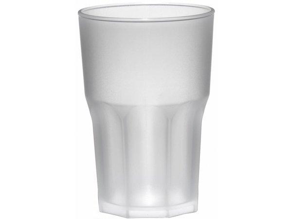XXLselect Glas Granity 40cl Mat PP Kunststof - Per 15 Stuks
