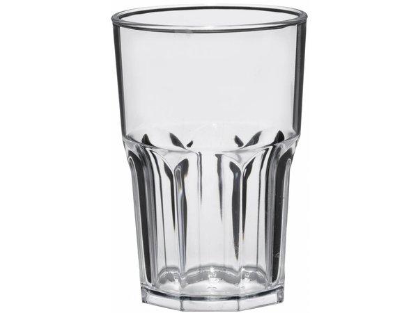 XXLselect Granity Glas 40cl Transparent SAN Synthetic - Pro 15 Stücke