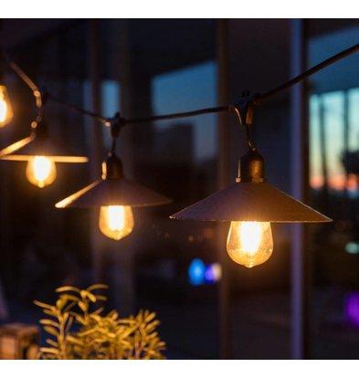 Lumisky Snoerlicht Vinty Light | 10 Lampjes | 11W | Lengte: 7m