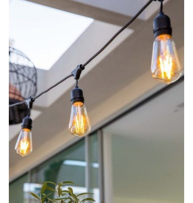 Lumisky Snoerlicht Mafy Light | 10 Lampjes | 11W | Lengte: 7m
