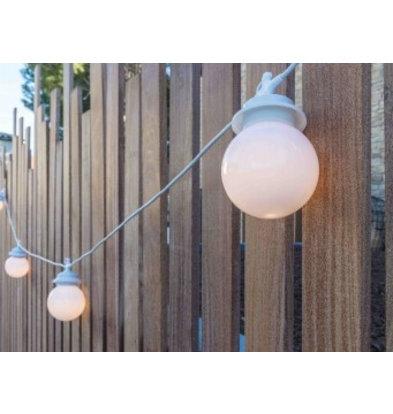 Lumisky Snoerlicht Cherry 4 Lampjes | 3W | Warm Wit Licht | Lengte: 7,5m | Per 4 Stuks