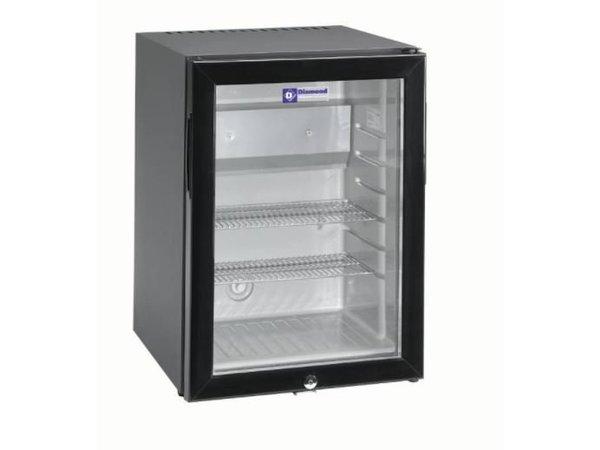 Mini Kühlschrank Für Steckdose : Diamond silent mini kühlschrank liter glastür xxl angebot