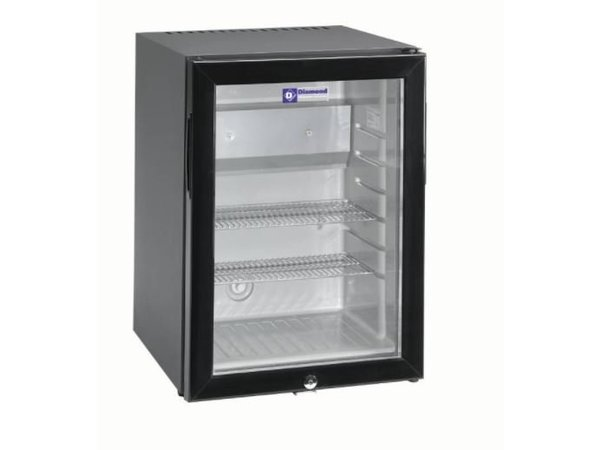Mini Kühlschrank Zubehör : Diamond silent mini kühlschrank liter glastür xxl angebot
