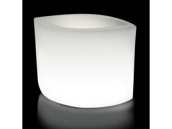 lumisky verlichte bloempot ovy w 60cm 13w kabel koel wit licht