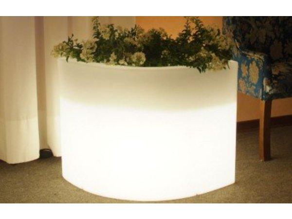 Bloempot Met Licht : Lumisky verlichte bloempot ovy w 60cm 13w kabel koel wit licht