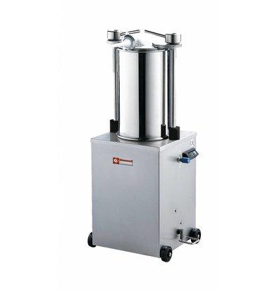 Diamond Worstenvuller / Stopfbuchse auf Rädern - 25 Liter - 0,7 HP - 565x950x (h) 1160mm