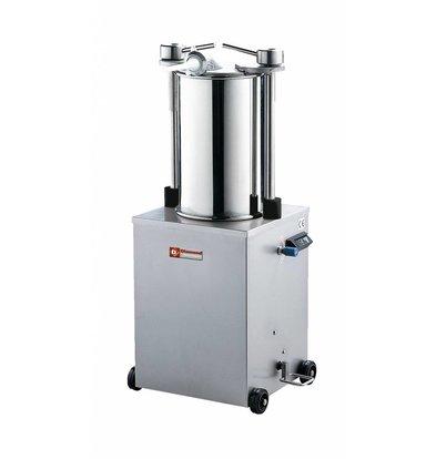 Diamond Worstenvuller / Stopfbuchse auf Rädern - 35 Liter - 0,7 HP - 640x480x (h) 1160mm