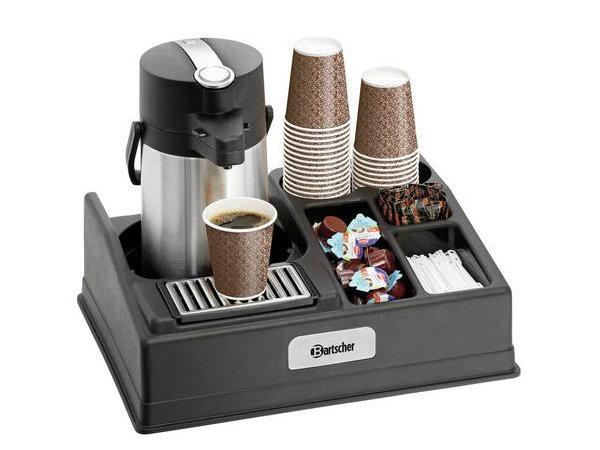 Bartscher Kaffee-Station geeignet für die Thermoskanne 1 Pumpe