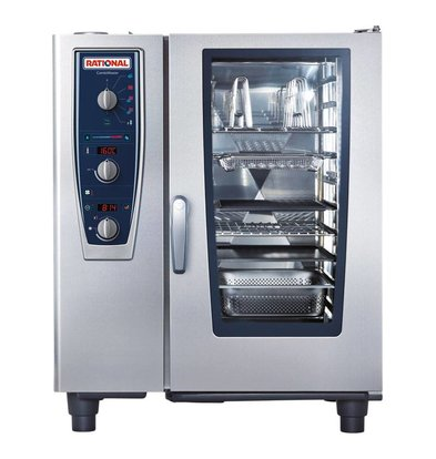 Rational Rational Steamer CM 101E Elektrisch | Combimaster 101 | 10x 1/1GN of 20x 1/2GN | 80-150 Couverts