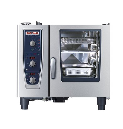 Rational Rational Steamer CM 61E Elektrisch | Combimaster 61 | 6x1/1GN of 12x 1/2GN | 30-80 Couverts