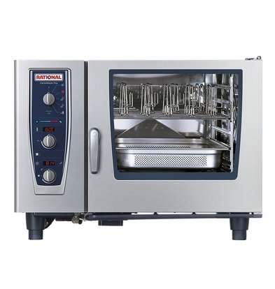 Rational Rational Steamer CM 62E Plus Electric | Oven Combimaster Plus 62 | 6x2 / 1GN or 12x 1 / 1GN | 60-160 Couverts