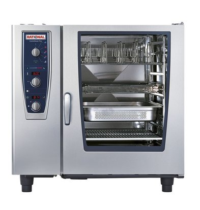 Rational Rational Steamer CM Elektro 102E plus | Combimaster Plus-102 | 10x 2 / 1GN oder 20x 1 / 1GN | 150-300 Gedecke
