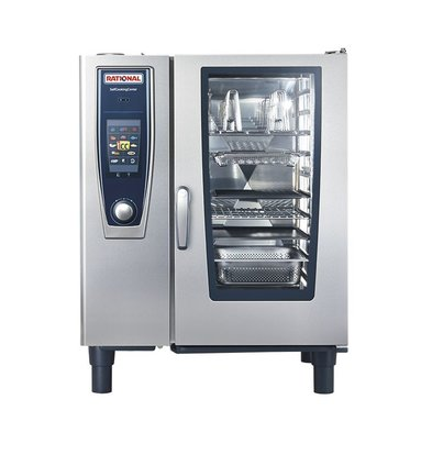 Rational Rational Kombidämpfer SCC 101G Gas | Selfcooking Center 101 | 10x1 / 1 GN oder 20 x 1 / 2GN | 80-150 Gedecke