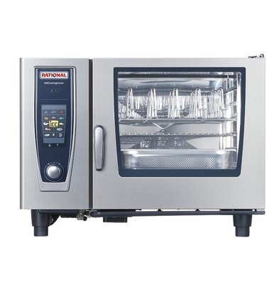 Rational Rational SCC Kombidämpfer 62G Gas | Selfcooking Center 62 | 6x2 / 1 GN oder 12 x 1/1 GN | 60-160 Gedecke