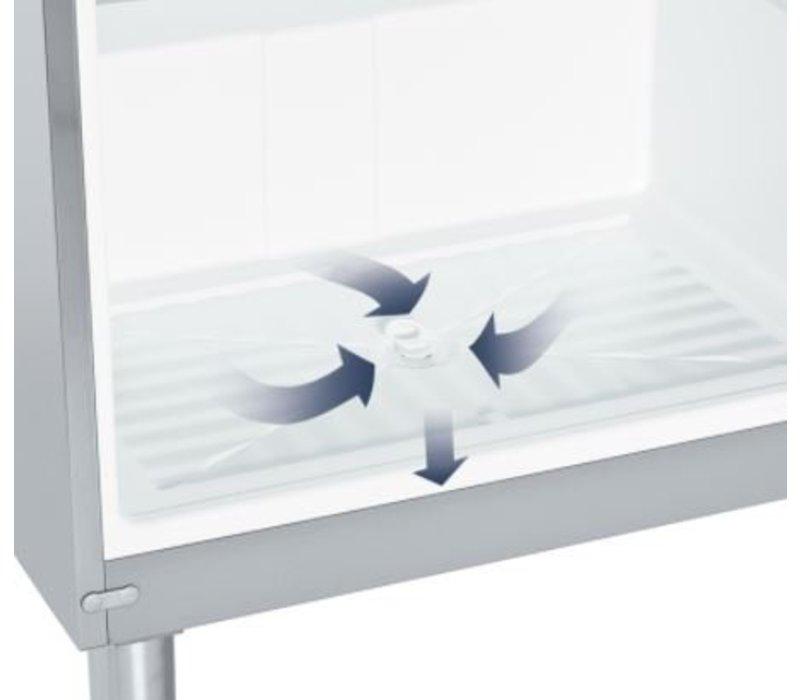 Liebherr Freezer White Gastronomy at Paws | Liebherr | 478 Liter | 2 / 1GN | GGv 5010 | 75x75x (h) 186cm