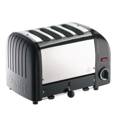Dualit Toaster Dualit Black | 4 Slots | Up to 130 slices p / u