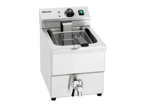 Bartscher Fryer Ablassventil | 8 Liter | 3,25kW | 290x550x (H) 410mm