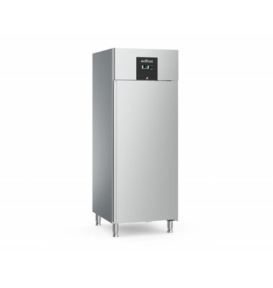 Ecofrost Stainless Steel Catering Fridge - 650 Liter - HEAVY DUTY - 74x83x (h) 201cm