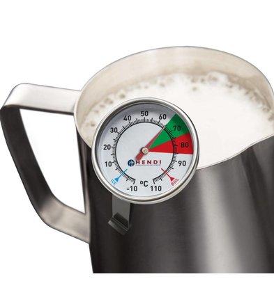 Hendi Melkschuim Thermometer | -10/+110C | Ø44x140(h)mm