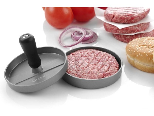 Hendi Hamburgerpers Aluminium | Ø120mm