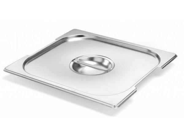 Hendi Gastronorm Deksel 2/3 | met Uitsparing | 354x325mm