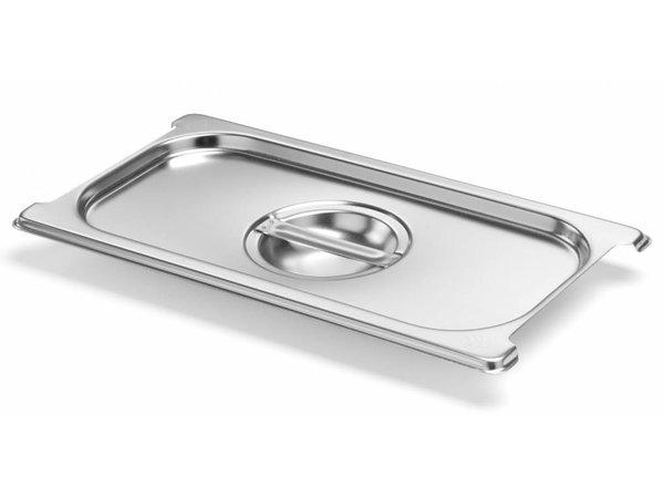 Hendi Gastronorm Deksel 1/3 | met Uitsparing | 325x176mm