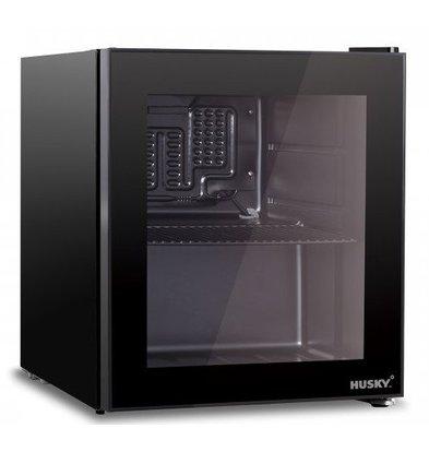 Husky Minibar Kühlschrank Schwarz 46 Liter 510x430x470 (h) mm
