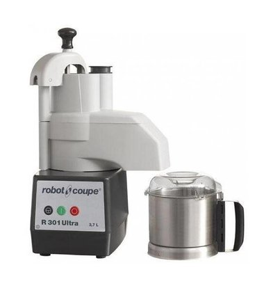 Robot Coupe Combi Cutter & Groentesnijder | Robot Coupe R301 Ultra | 650W | 3,7 Liter | Snelheid: 1500 RPM