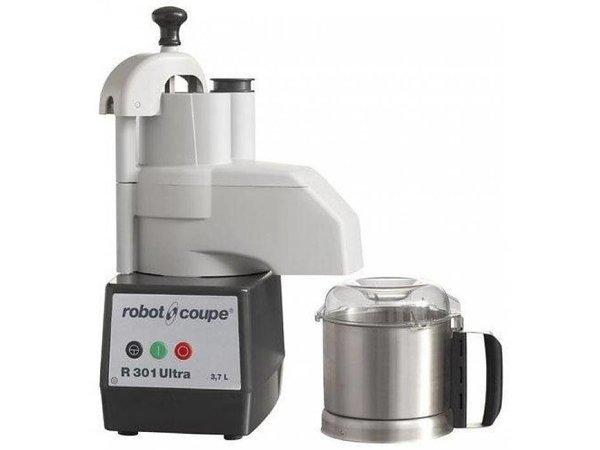 Robot Coupe Combi Cutter & Gemüseschneider | Robot Coupe R301 Ultra-| 650W | 3,7 Liter | Geschwindigkeit: 1500 RPM
