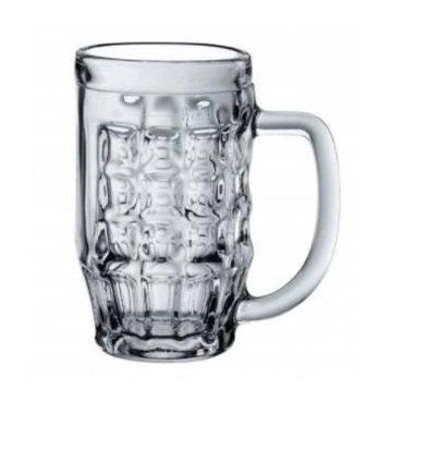 XXLselect Bierkrug Originel | 670 ml | Ø90x157 (h) mm | Pro 6 Stück