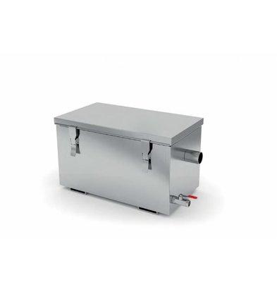 XXLselect Vetafscheider RVS | AISI 304 Kwaliteit | 3 Verschillende Capaciteiten