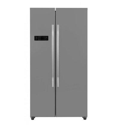 Frilec Amerikaanse Koel-Vrieskast RVS | 291 + 138 Liter | Energieklasse A+ | 900x590x1770(h)mm