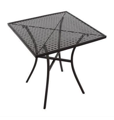 Bolero Bistrotafel Zwart Staal | 70x70cm