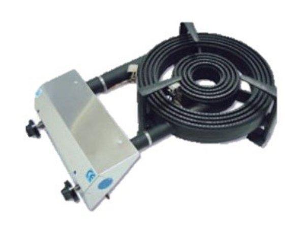 Diamond Gasbrander Paella RVS | Ø450mm | 27,2kW | Tafelmodel 790x480x230(h)mm