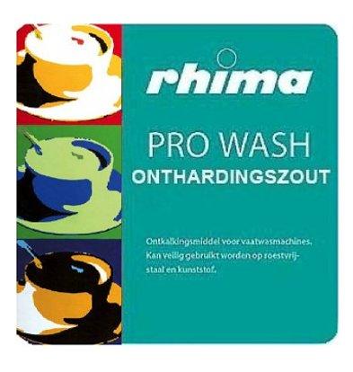 Rhima Pro Wash softening | 25kg bag