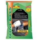 WM Simoniz Cleaning Glove Wipes (24 per doos, 3 per verpakking hersluitbaar)